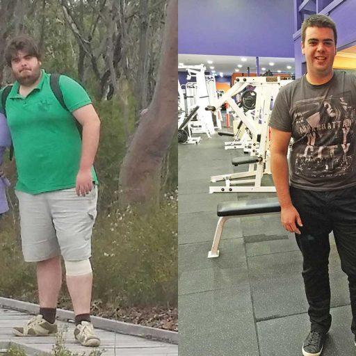 connor weight loss